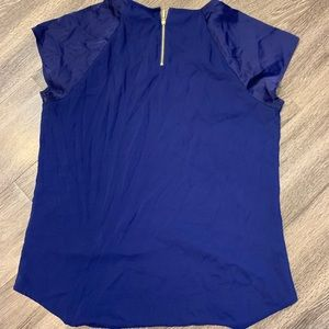 EXPRESS NAVY / ROYAL BLUE GRAMERCY BLOUSE